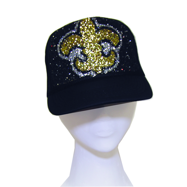 SAINTS GLITTER HAT · GLITTERHAT.COM · Online Store Powered by Storenvy 3f74880c8
