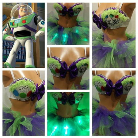 f086a2767fac3 Buzz Lightyear Inspired Rave Outfit on Storenvy