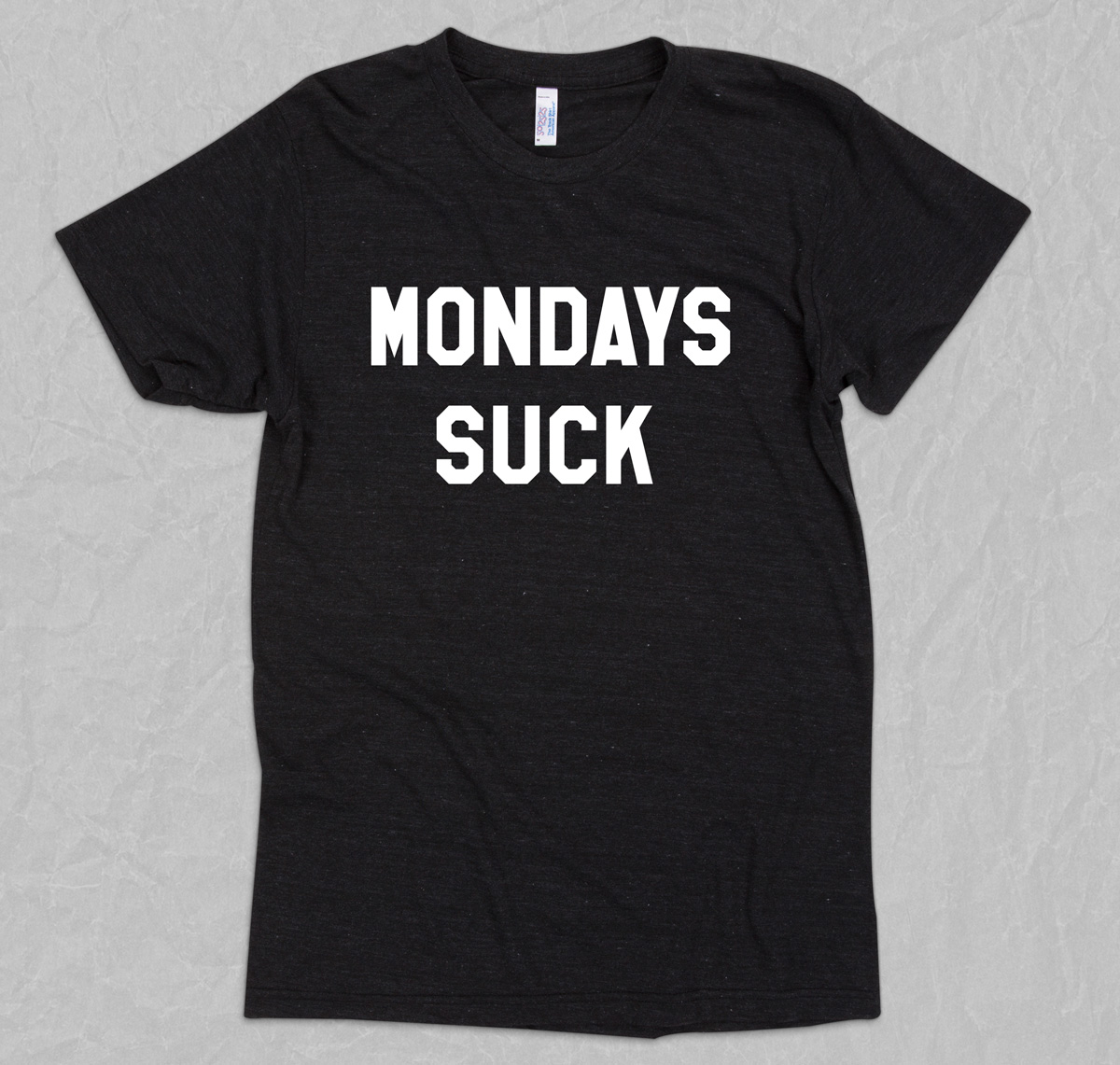 6b947705 Mondays Suck - I Hate Monday T-shirt, Humorous Sarcastic Quotes Tees ...