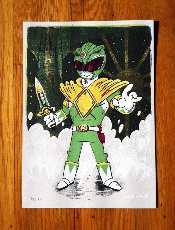 Green Ranger (MMPR) from Alden Viguilla