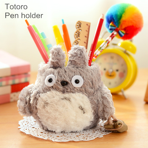 Cute Pen Holder My Neighbor Totoro Pencil Holders Desk Organizer Storage  Stationery Zakka Office Material School
