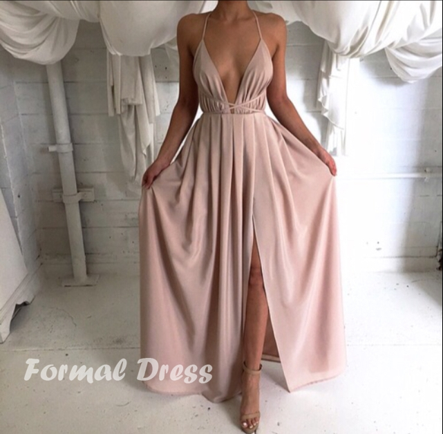 Simple A-Line Prom Dress, Formal Dress on Storenvy