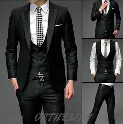 Slim Fit Suits+Pants+Vest on Storenvy