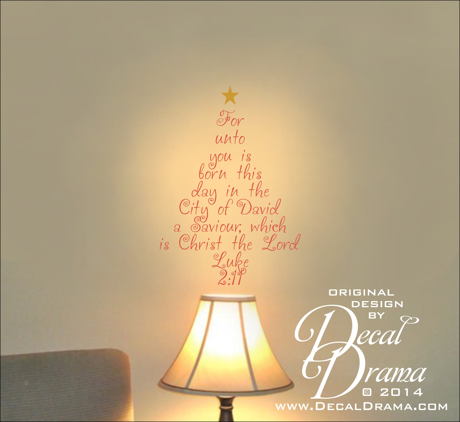 Christmas, For unto you is born this day in the City of David a ...