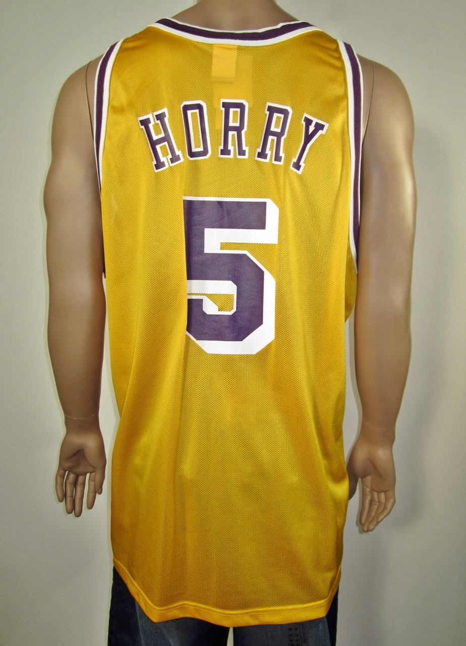 1abf3beb7c8 Robert Horry Los Angeles Lakers Champion Jersey 52 NWT on Storenvy