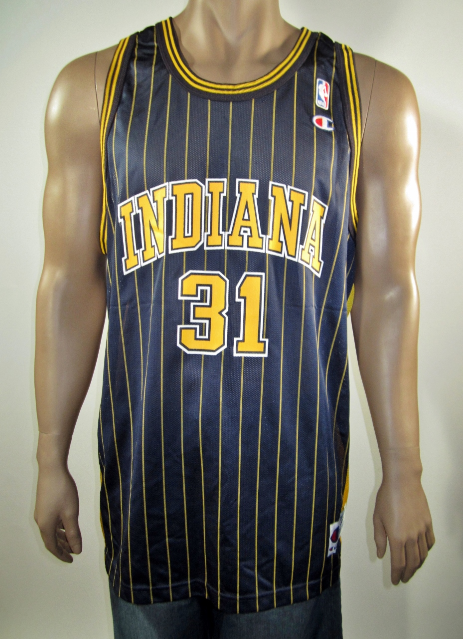 d55a6dfa73d Reggie Miller Indiana Pacers Champion Jersey 48 NWT on Storenvy