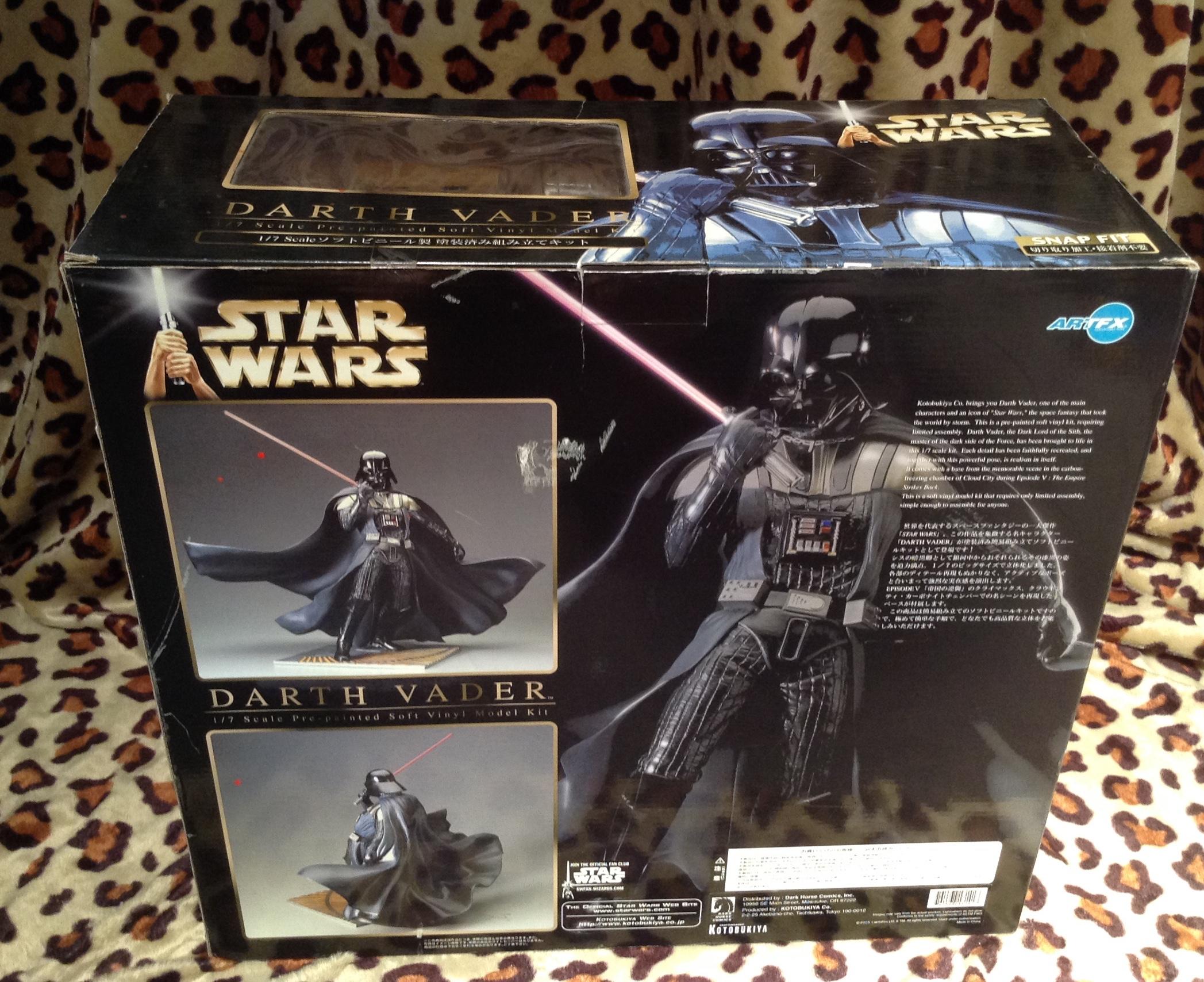 Kotobukiya Star Wars Darth Vader Vinyl Model Artfx