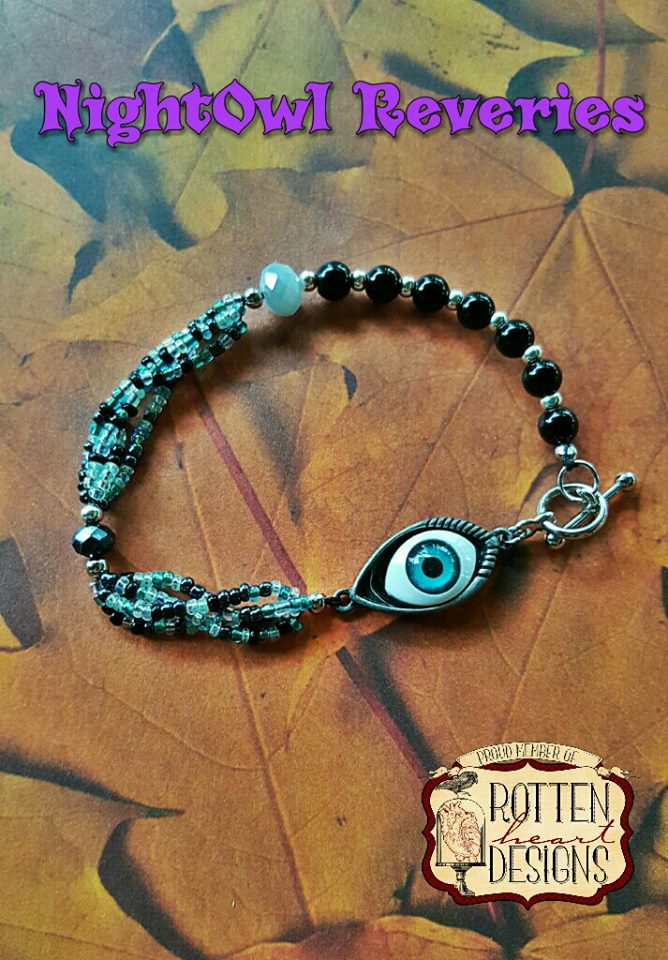 Evil Eye Protection Amulet Bracelet sold by NightOwl Reveries- AMS