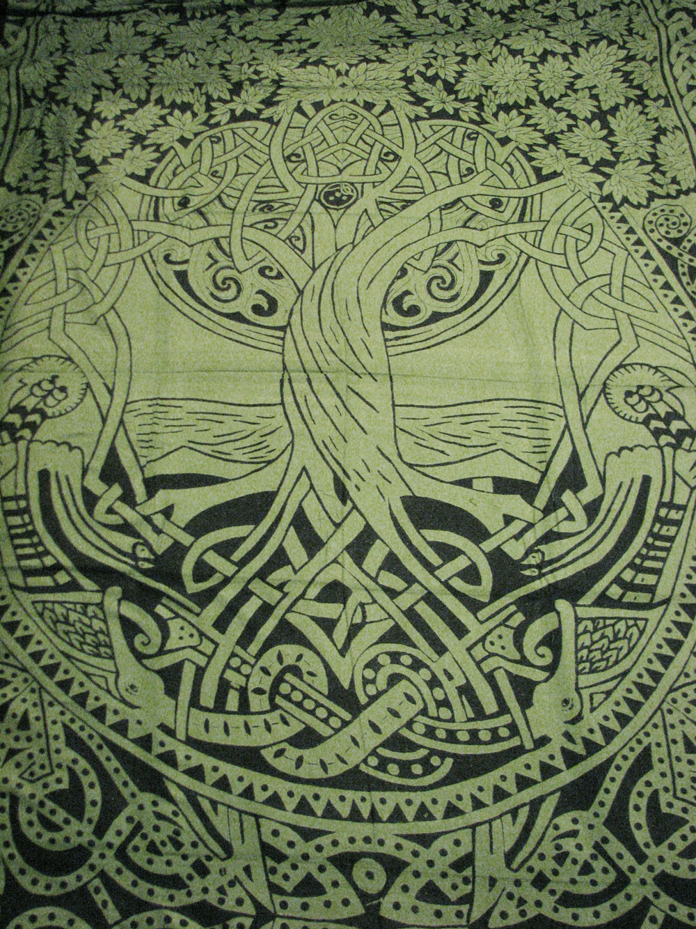 celtic tree of life infinity knot druid pagan tapestry wall hanging bedspread 4rissa online. Black Bedroom Furniture Sets. Home Design Ideas