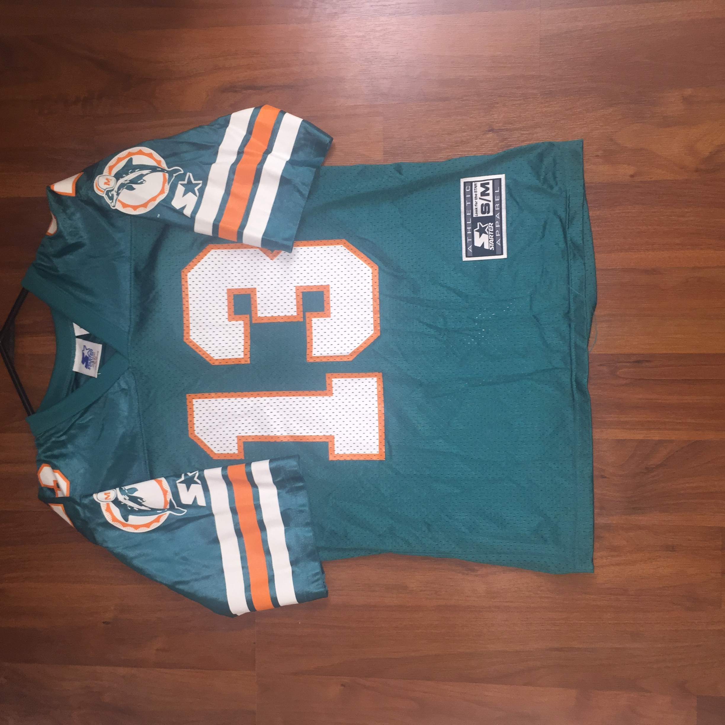the best attitude 1ebed efb6b Dan Marino Miami Dolphins Starter Jersey youth size s/m from Furious Styles  Vintage