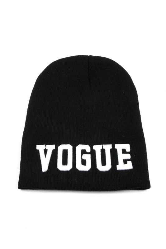 48b352d3413471 Winter Beanie W/ Embroidered Words on Storenvy