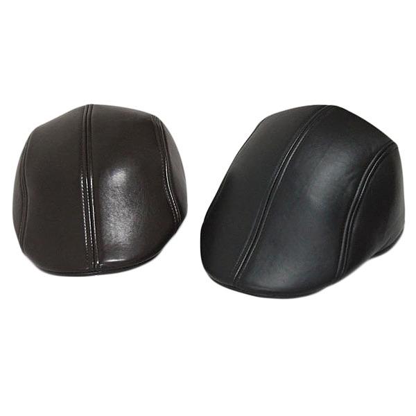 14f1c3a3fa68e7 Unisex Men Women Artificial Leather Newsboy Beret Hat Duckbill Cowboy Golf  Flat Cabbie Cap · badiroga · Online Store Powered by Storenvy
