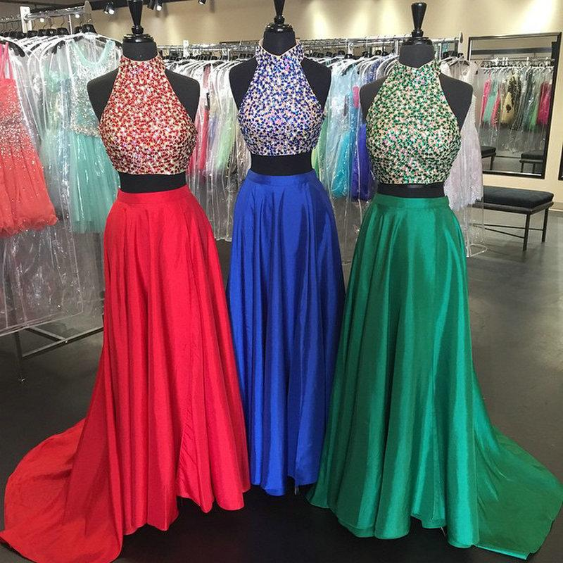 Two Piece Prom Dresses Custom Made On Storenvy