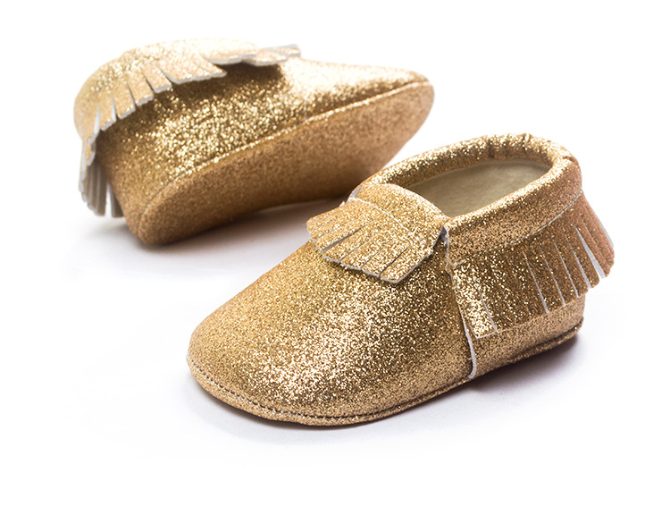 eeca12983e32b Baby Glitter Moccasins Moccs from NM Kids Boutique