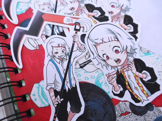 Juuzou Suzuya Tokyo Ghoul Stickers On Storenvy
