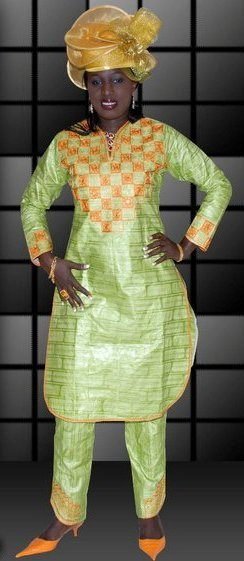 Lime Green African Women S Clothing With Pants On Storenvy