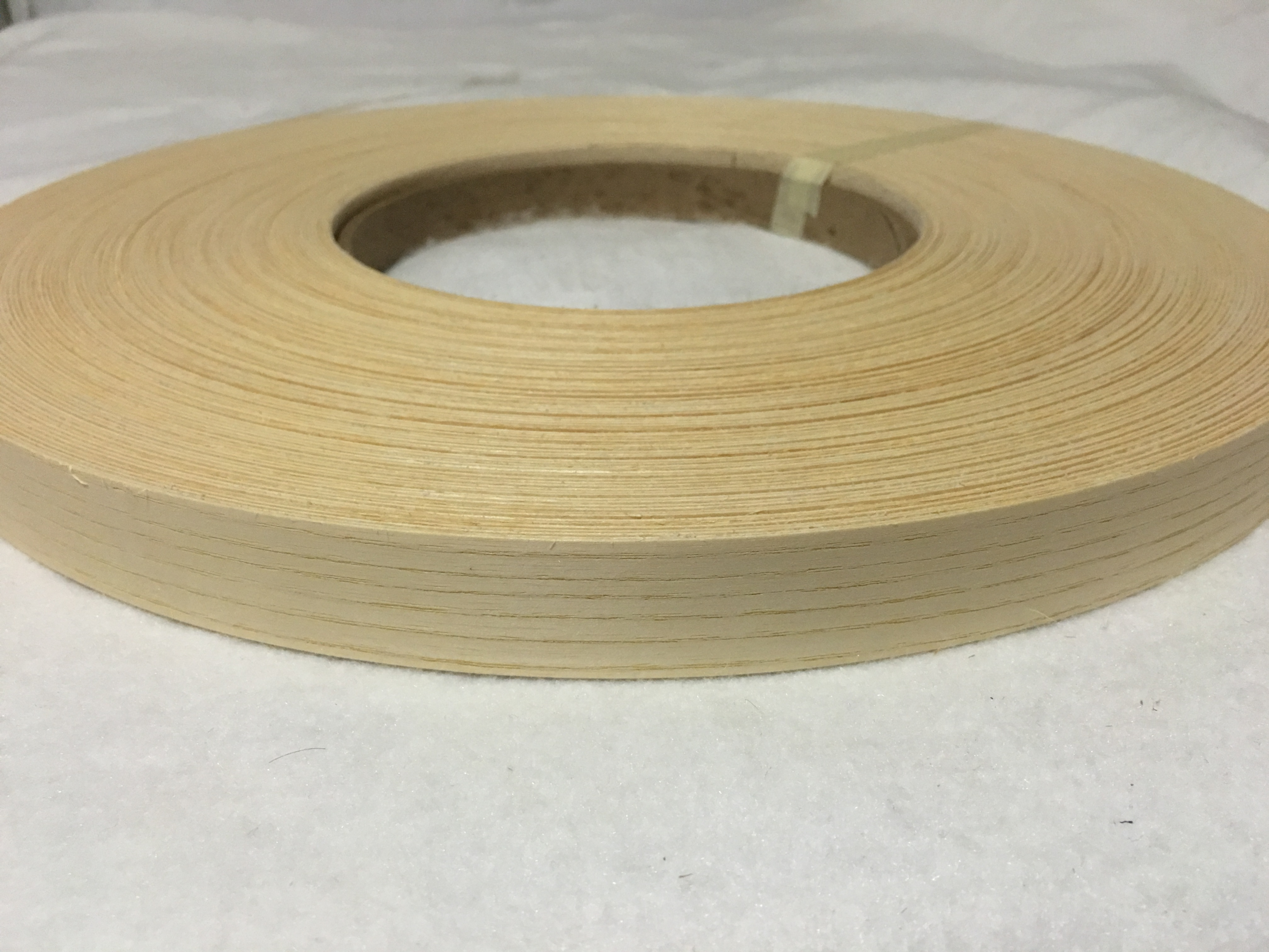 "Sapele Prefinished pre glued 7//8/""x250/' wood veneer edgebanding"
