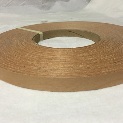 "Walnut non glued 1 1//4/""x250/' Wood Veneer edge banding"