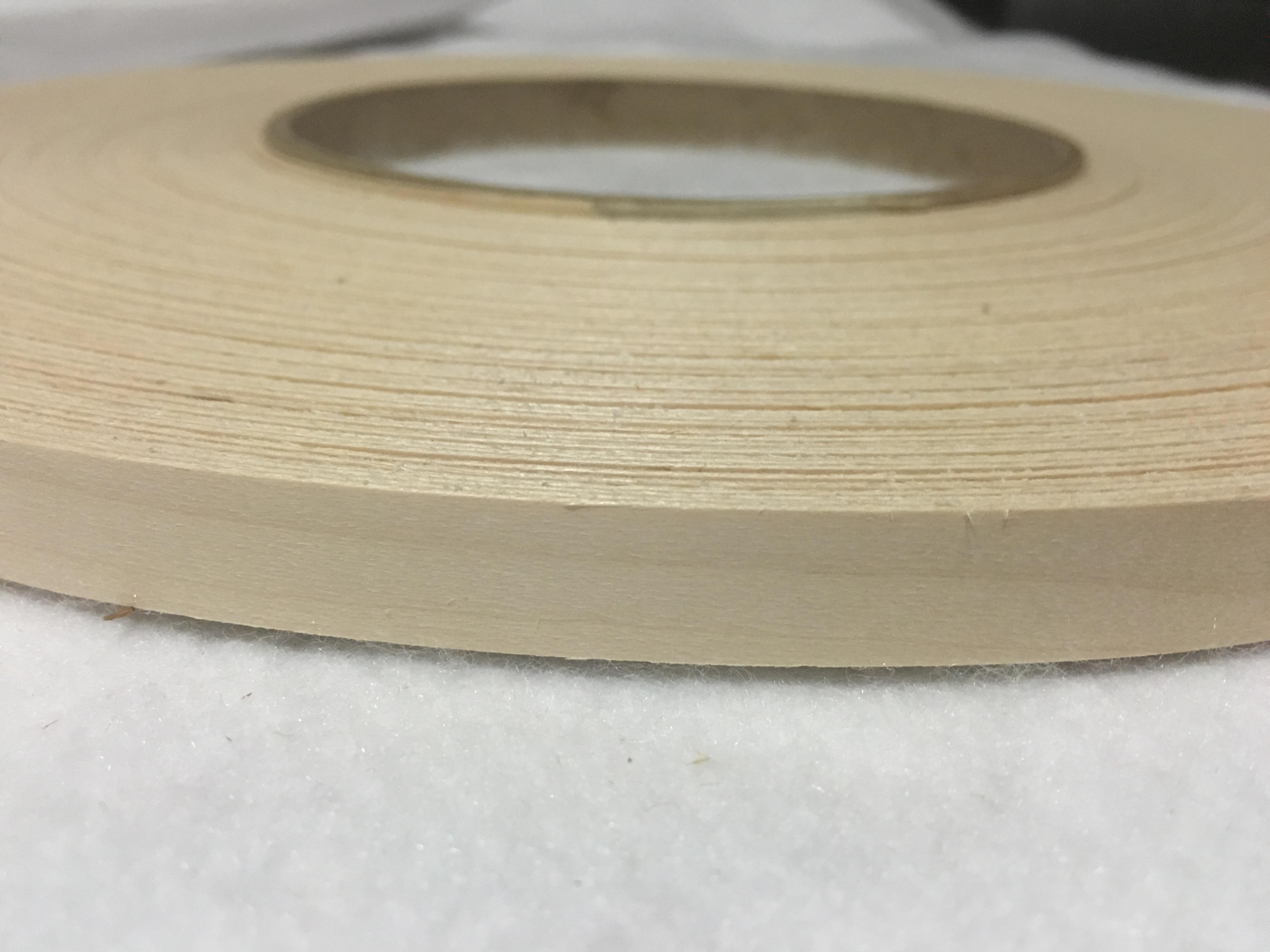 Birch Pre Glued 1 2 To 3 X250 Wood Veneer Edge Banding