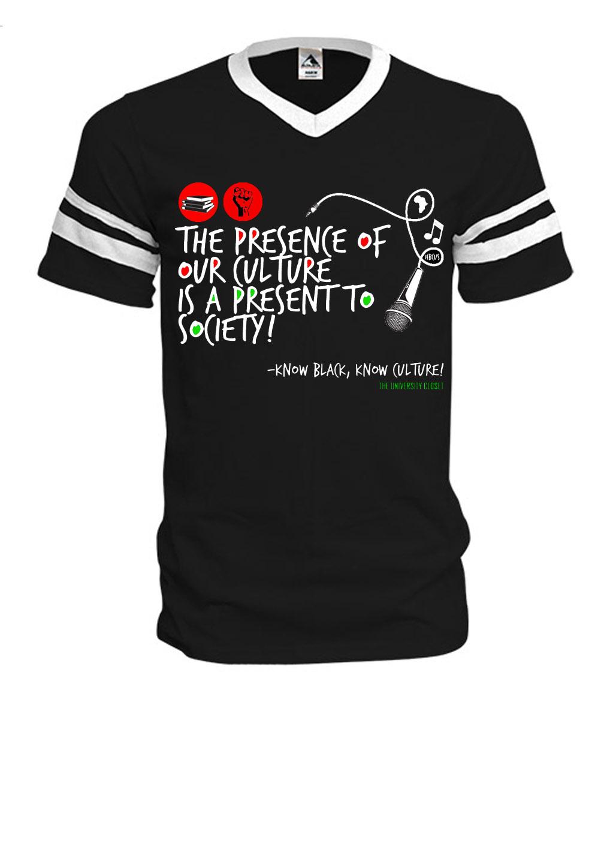 377a4bca Black Presence Baseball Tee · THE UNIVERSITY CLOSET, LLC · Online ...