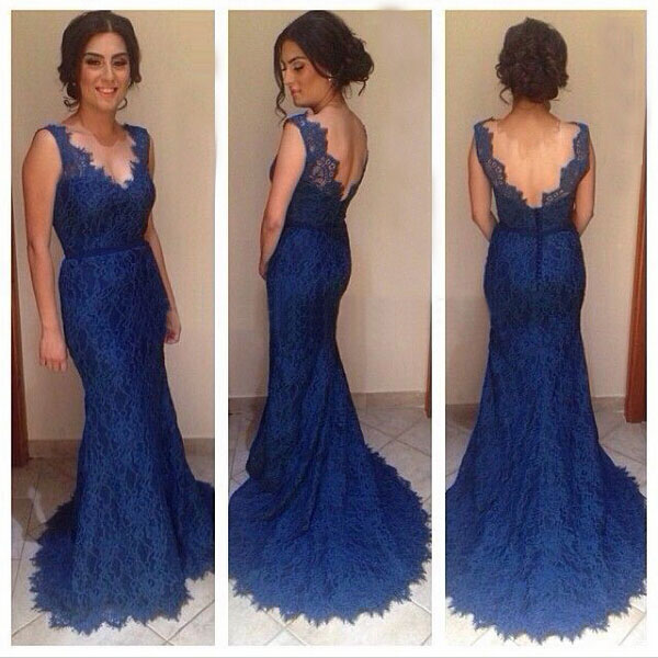 a6b448d1745 Lace Real Made Custom Made Charming Prom Dress