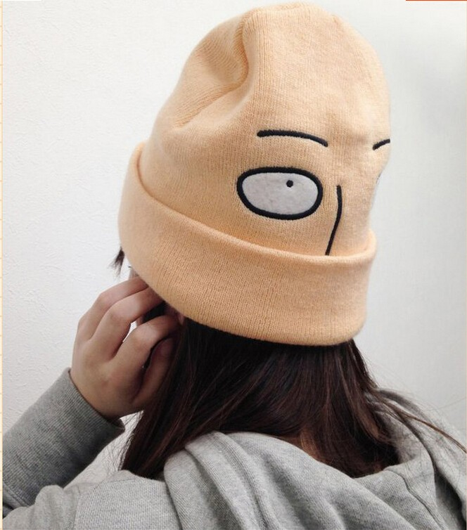 c57b82cbf2d One Punch Man Saitama Beanie on Storenvy
