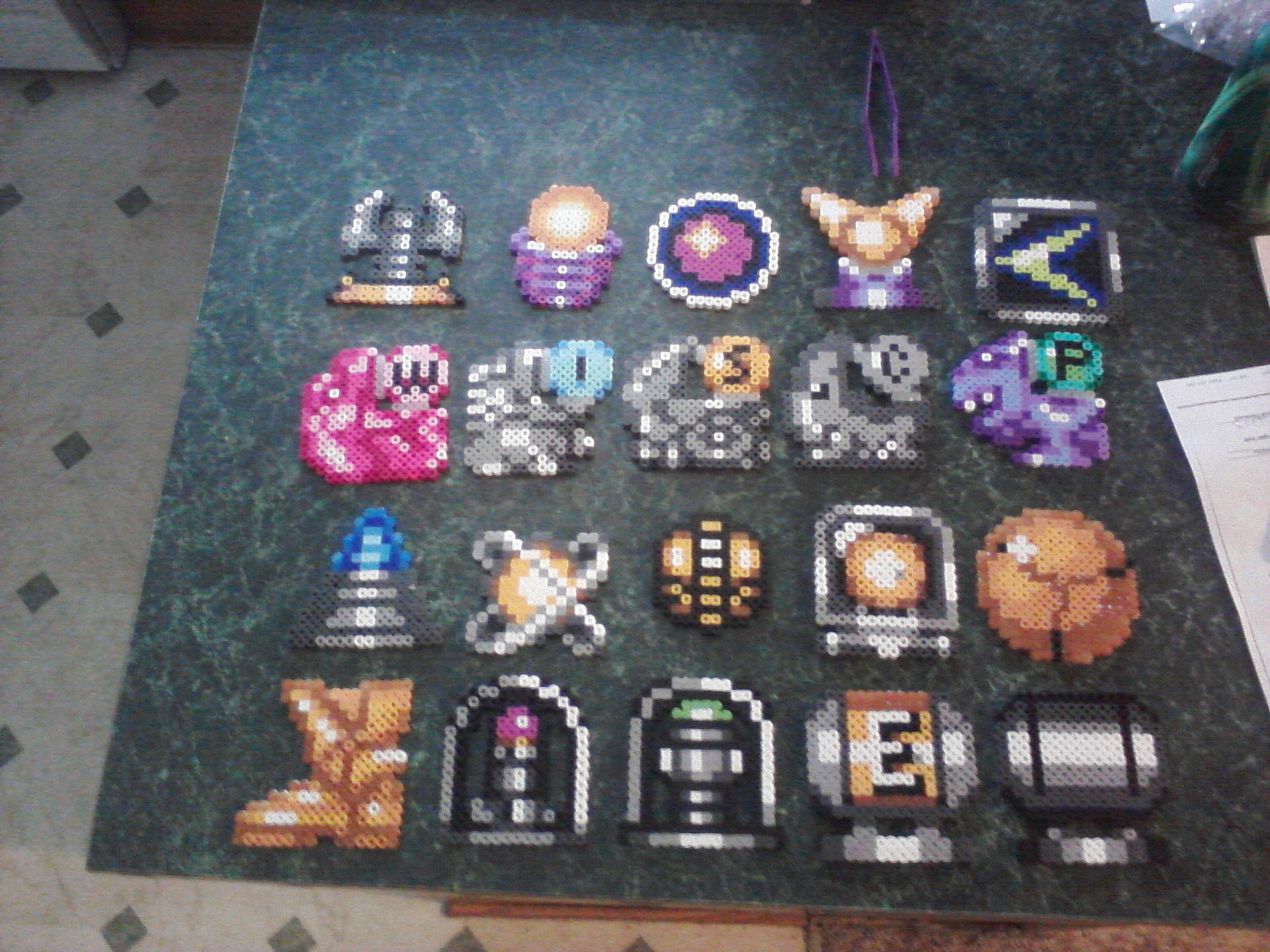 super metroid weapons expansion set pixel art from uraharas pixel shop
