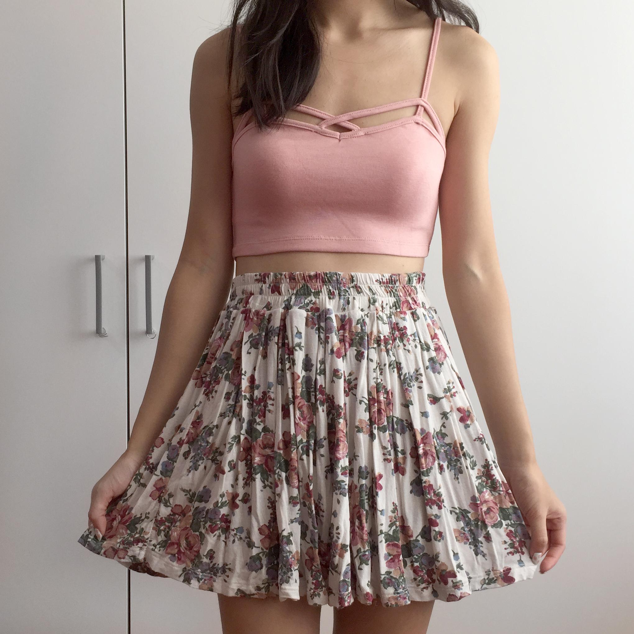 7726e7fac0bfa Strappy Cross Front Bralette (Blush Pink) · Megoosta Fashion · Free ...