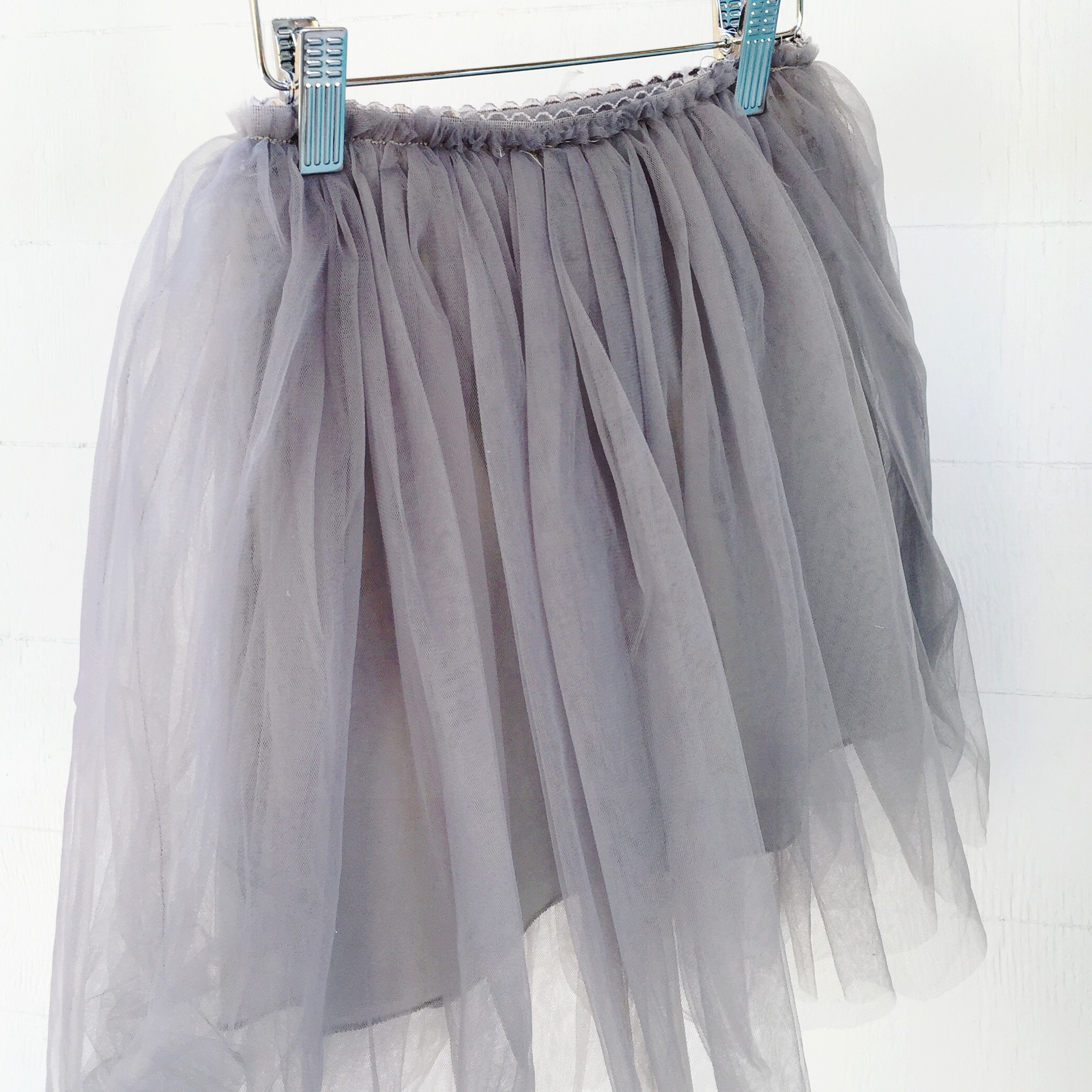 e575286d48 Gray Tulle Skirt · topknots and twirls · Online Store Powered by ...