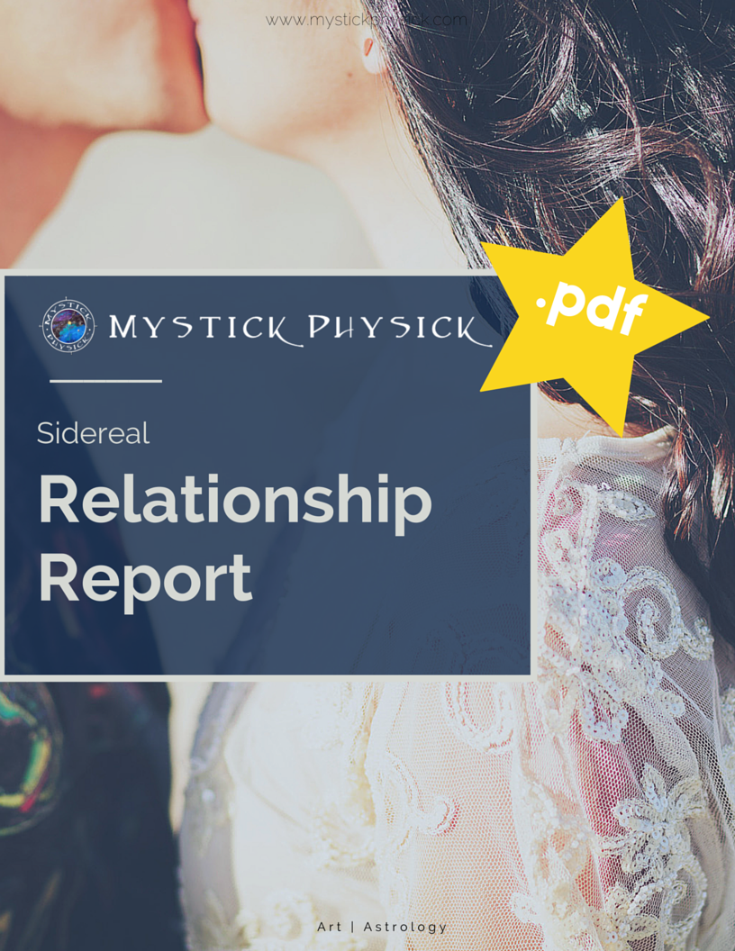 Sidereal Relationship Report | Digital Astrology Report | Astrological  Compatibility Report | Synastry Report