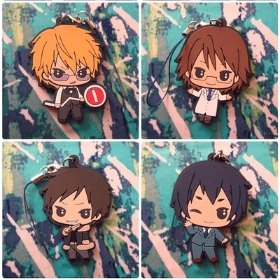 Durarara!! Rubber Coaster Mikado Kida Chikage Aoba Shizuo Izaya Anri Celty