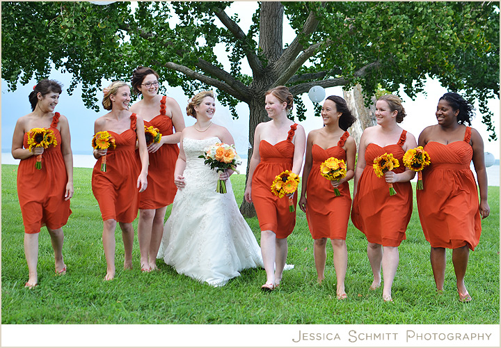 c3fff127cb1b New Arrival One Shoulder Orange Red Chiffon Knee Length Short Bridesmaid  Dresses APD1309