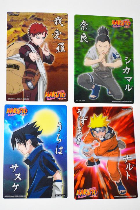 Naruto mini clear postcards starlightslk online store - Naruto boards ...