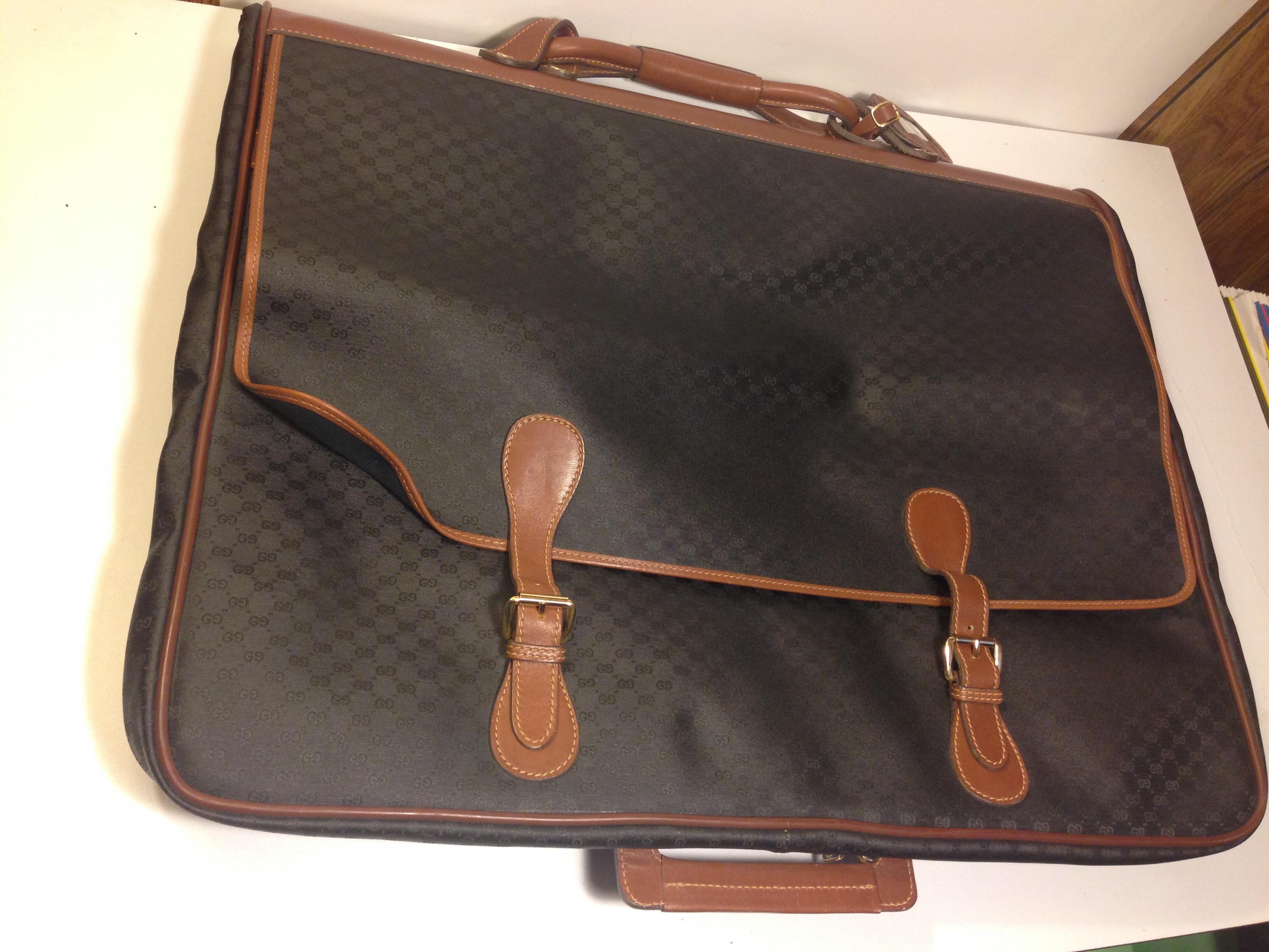 a937a22a7cdf Gucci Vintage Monogram Garment Travel Bag on Storenvy