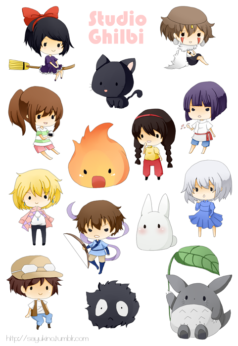 Stickers Studio Ghibli On Storenvy