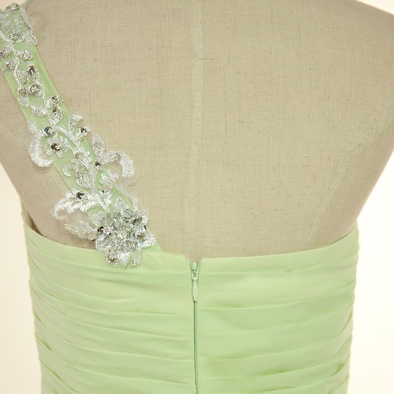 fc27a174a1c ... One Shoulder Long Bridesmaid Dresses