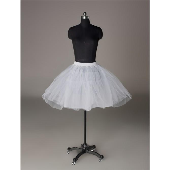 Danadress Womens Lolita Crinoline Hoopless Tulle Petticoat Tutu Skirt