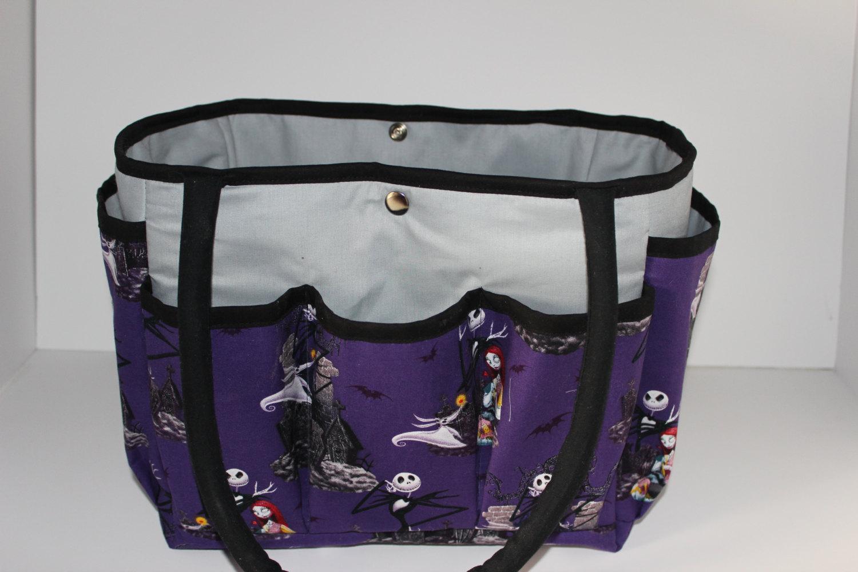 Jack Skellington Nightmare Before Christmas Multi-Pocket Diaper Bag ...