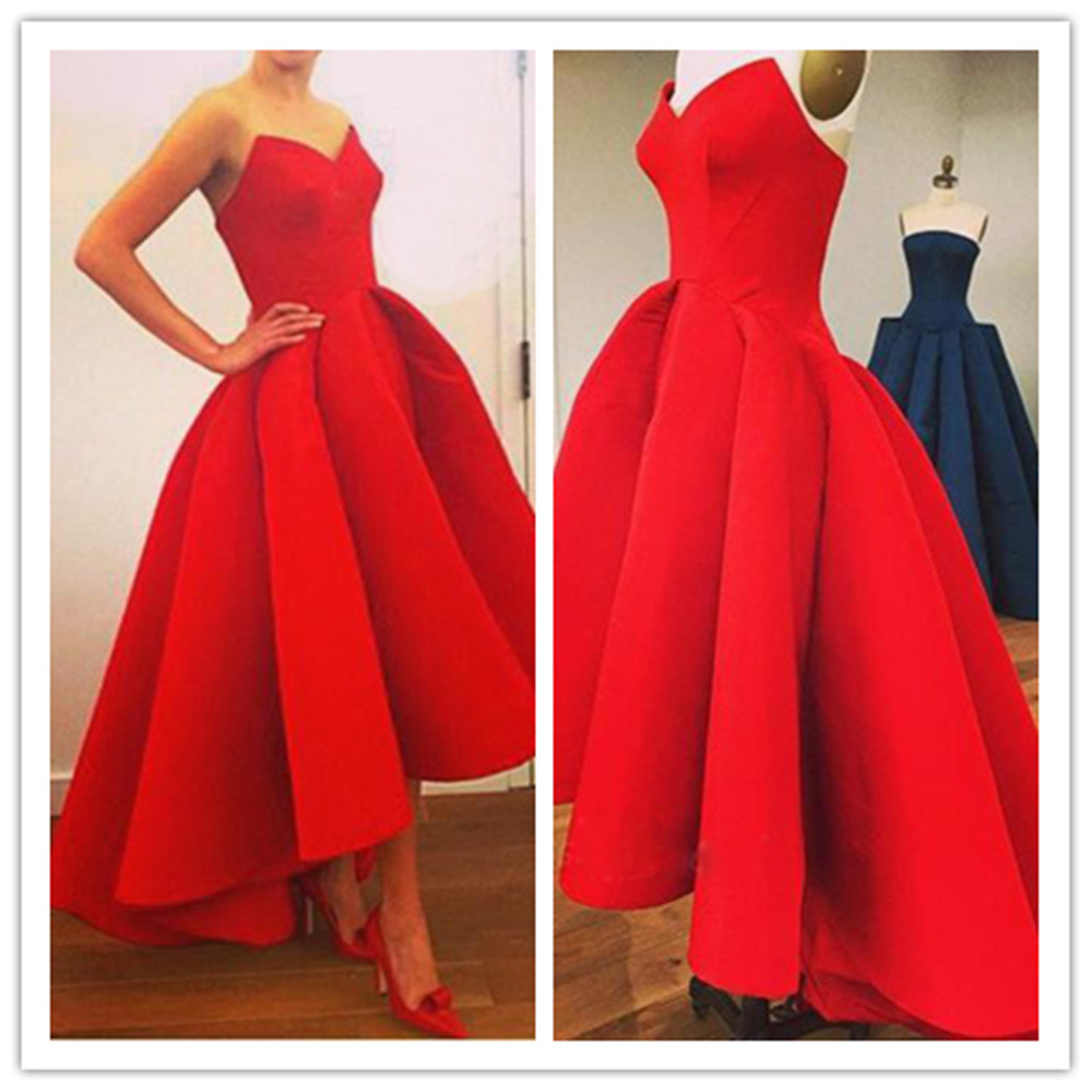 9d475ca6902 Charming red prom dress