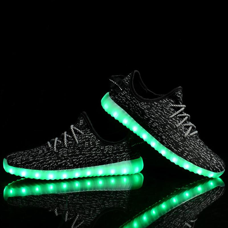 light up yeezys