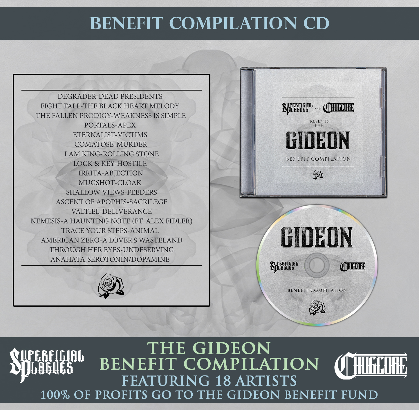 The Gideon Benefit Compilation from Chugcore