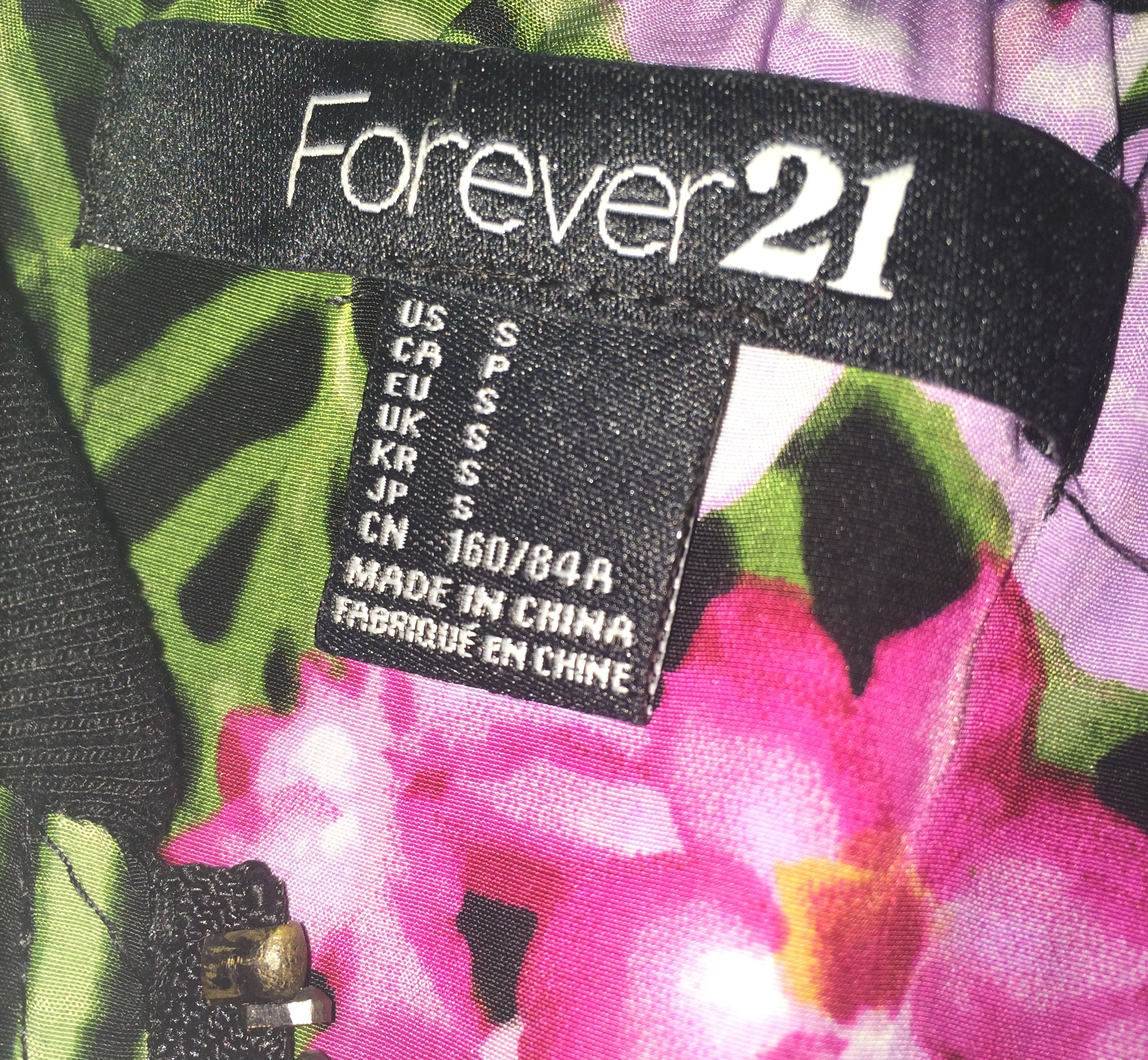 Forever 21 Cool Aesthetic Tumblr Floral Jacket Sold By