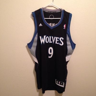 d9437b59 Minnesota Timberwolves Ricky Rubio Jersey · Kings Court Vintage ...
