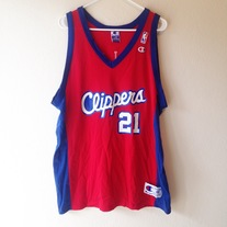 984e758b352e Envy This Collect. Los Angeles Clippers Darius Miles Champion Jersey 48