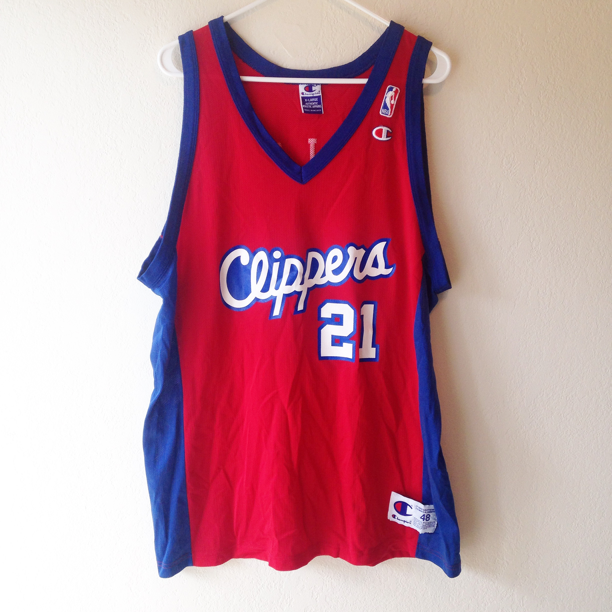 0e90d97910a Los Angeles Clippers Darius Miles Champion Jersey 48 on Storenvy