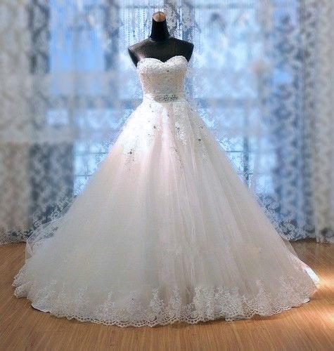 A-Line Princess Wedding Dress