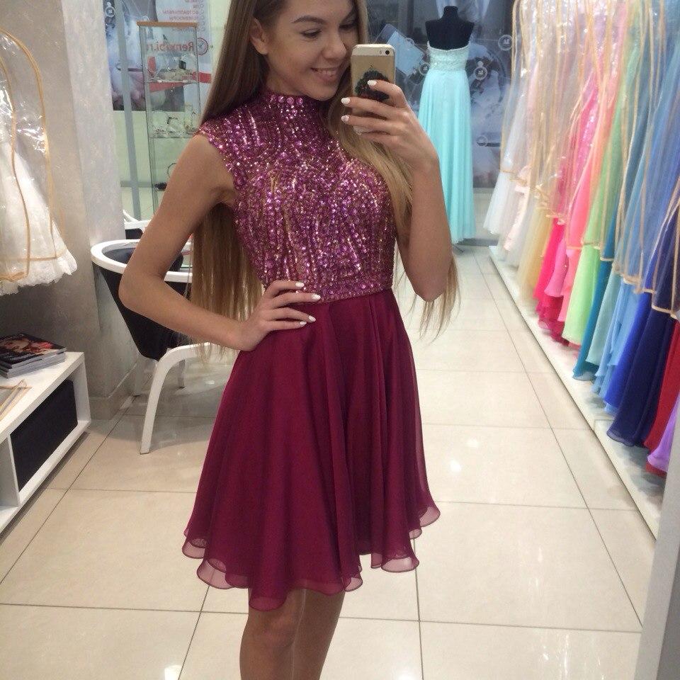 0a8a301e767 Pretty Beading Short Prom Dresses,Homecoming Dress, Homecoming Dresses On  Sale,XS55