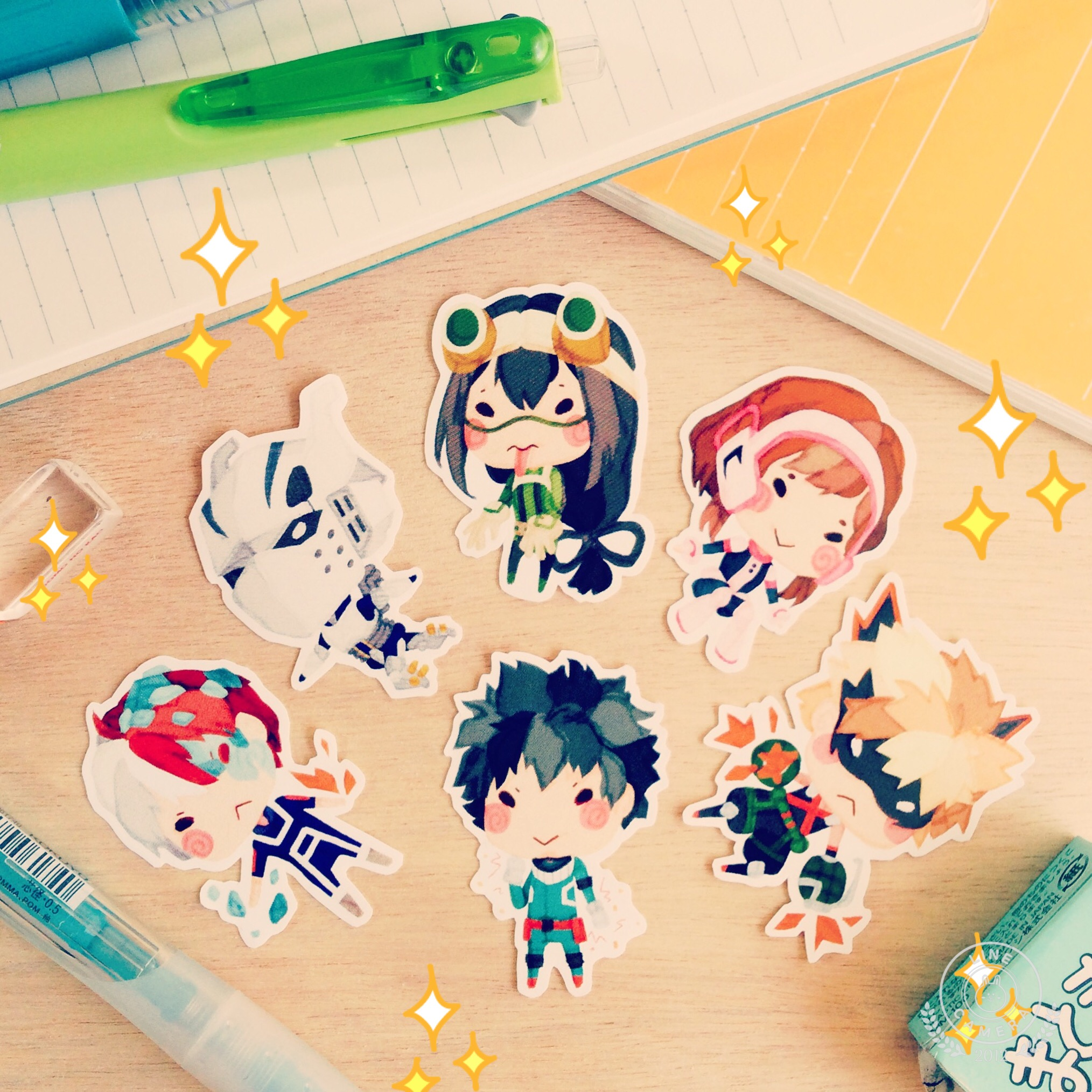 Boku No Hero Academia Stickers On Storenvy
