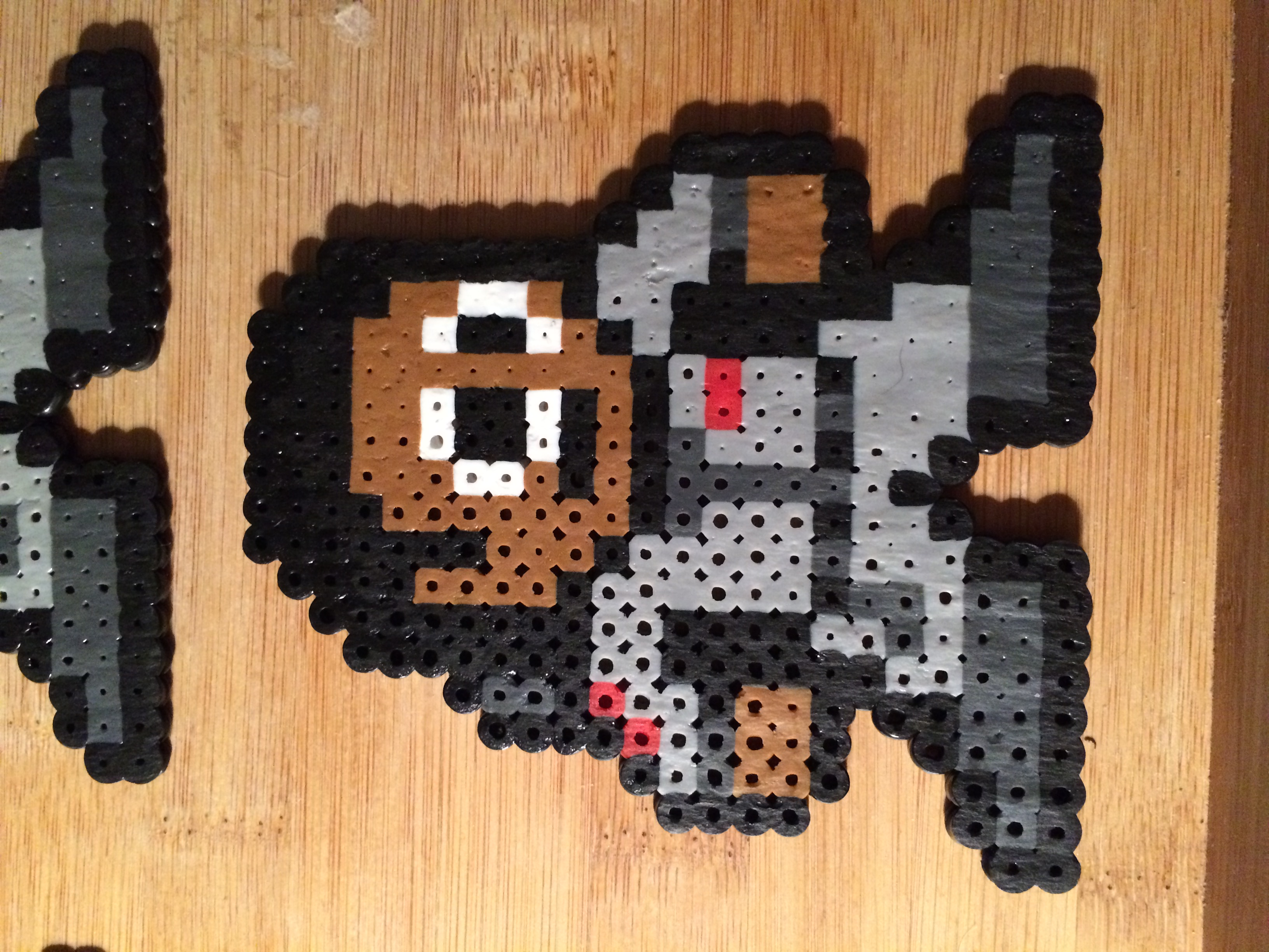 Ghostbusters Perler Bead Art Set Of 5 From The Pink Turtle Lady