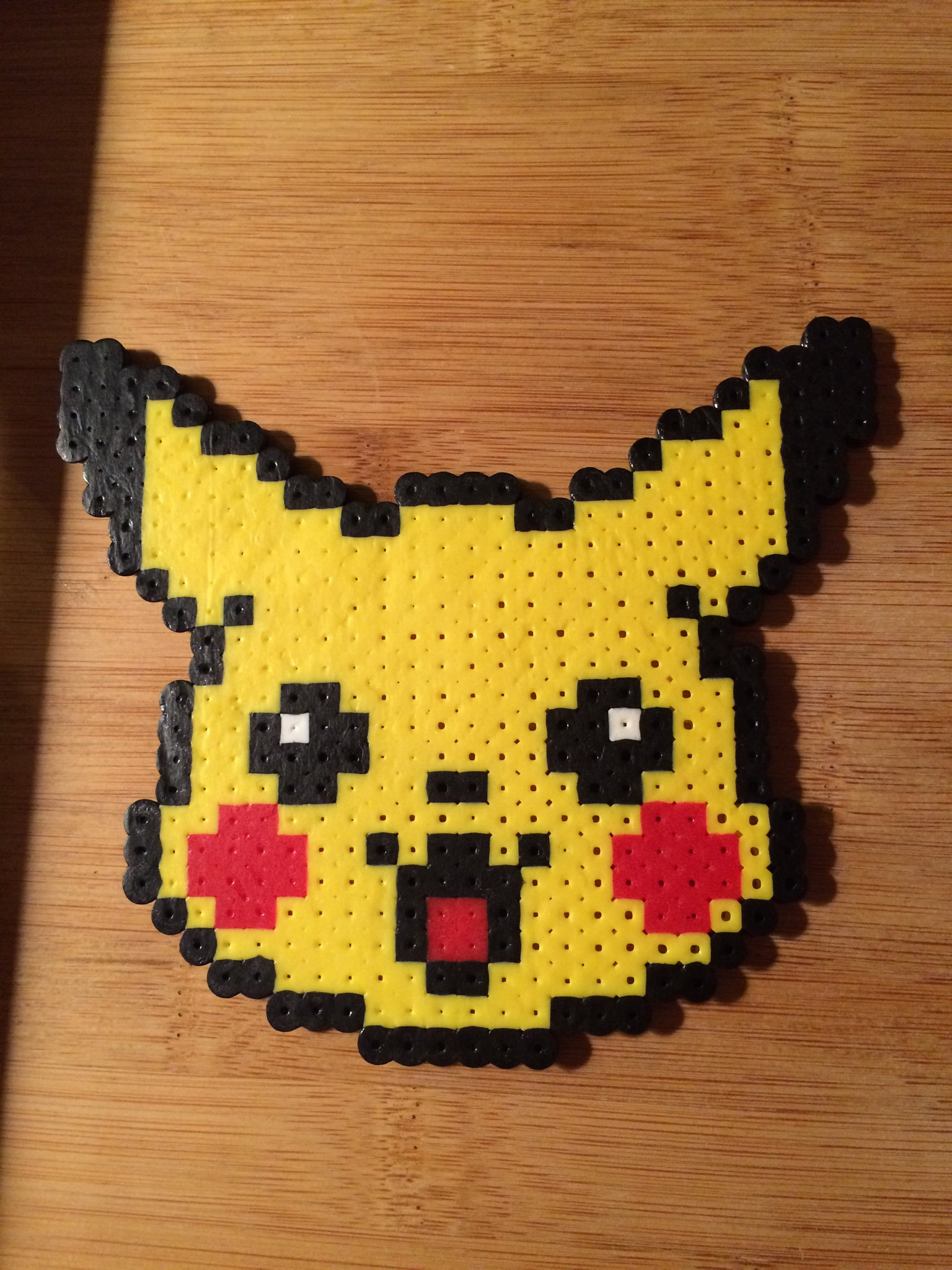 Pikachu Perler Bead Art On Storenvy